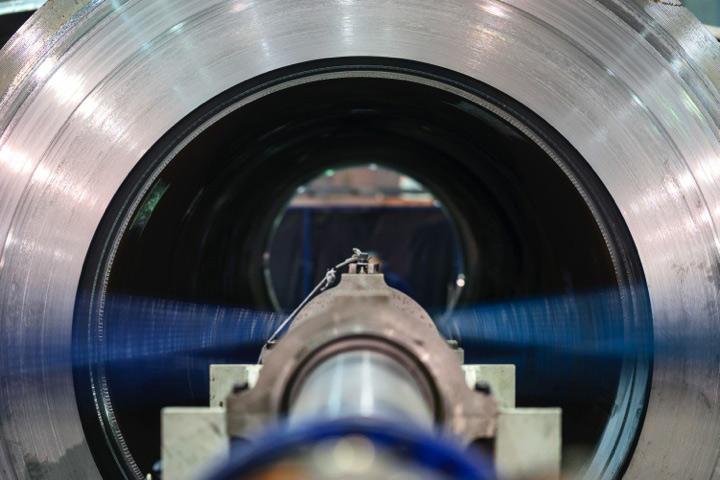 Momento del proceso de producción de una limera