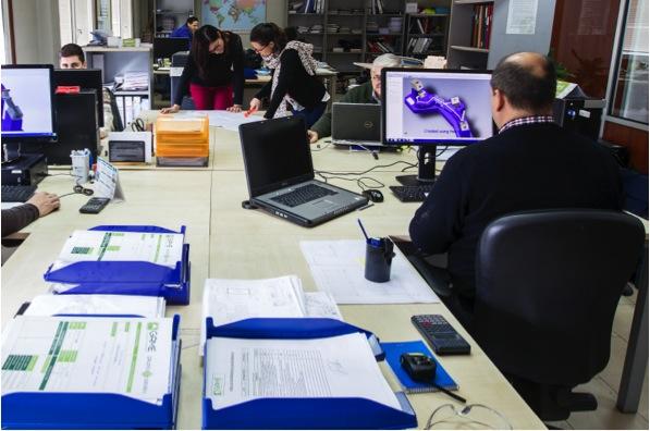 Ganaín diseña y ejecuta proyectos para la industria