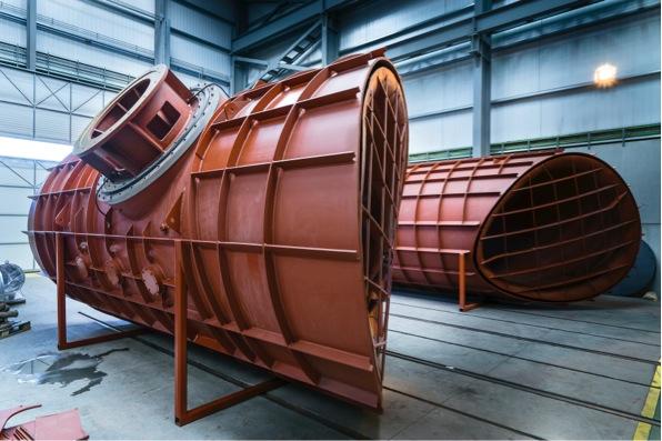 Túneles para barco. Diseño y fabricación de Ganaín.