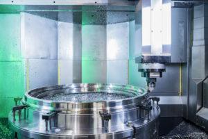 Ganaín fabrica discos de inconel que forman parte de las turbinas de los aviones.